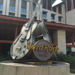 Hard Rock Guitars at the front