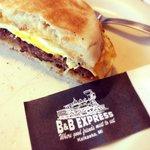 The Railroad breakfast sandwich - delicious!