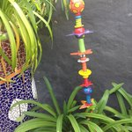Whimsical garden ornament available for sale