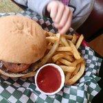 Kids meal burger