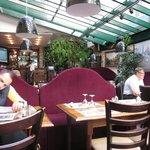 Dining Room of La Cour de la Huchette Restaurant