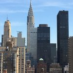 Manhattan Skyline View from the Affinia Dumont
