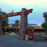 Furnace Creek Ranch Entrance