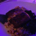 Blacked Mahi over Maine Lobster Risotto