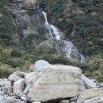 Fox Glacier Waterfall