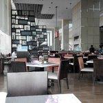 in the restaurant...