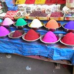 A stall at the Mysore Walk
