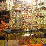 Perfume Vendor at Mysore Market