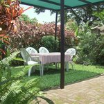 No.1 Garden area with garden furniture