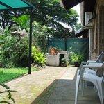 No.1 Own braai facility in garden area