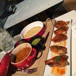 Pork Tacos & Korean Chicken Wings