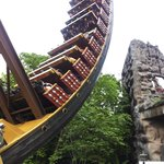 Scary 360 degree ride