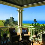 A room with a view - sheltered porch