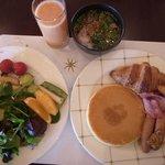 70Fシリウスでのブッフェ朝食