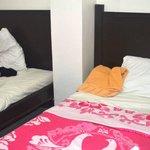 2 Single Beds for Standard room Boracay Courtyard