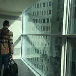 Corridor - Up to ceiling windows