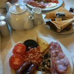 Full English Breakfast at Cottons
