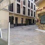 hotel from corner of Calle Puerte Nueva