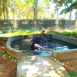 Monika w basenie