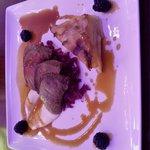 venison in the restaurant