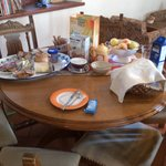 Radovljica - Vidic House - breakfast table