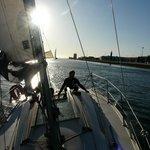 sailing in cascais