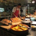 Bazaar Restaurant - in action!