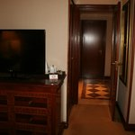 Vista do quarto para a entrada