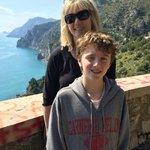 Near Amalfi on photo stop