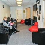 Teaching waiting area