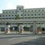 Hotel facade facing the Harbour Bay Mall
