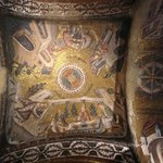 Breathtaking mosaics, inside the church