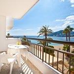 Algunos apartamentos con terraza con vistas al mar