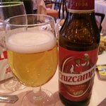 A beer at the hotel restaurant - Dinner