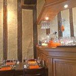 la salle et le bar