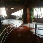 Yuzana Restaurant Stairway