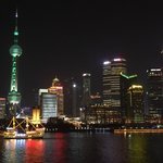 View by Night: Pudong area and skyline