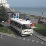 5) Again, looking towards the pier with view of 1964 coach