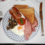 6) A great cooked breakfast - sets you up for the day