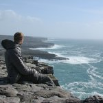 nice view from top of Dun Aengus