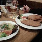 Wiener Schnitzel and Potato Salad