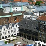 Lubeck Altstadt -rathaus