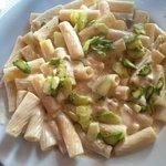 Pasta con asparagi.... 6 €