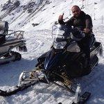 Gita in motoslitta al passo Ca San Marco