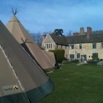 Tipi's in grounds