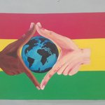 Reggae Art - symbols of worldwide fellowship and peace