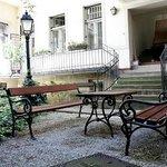 Garden & benches