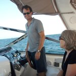 Captain Aaron . . . thanks for the great time ... we'll be back!
