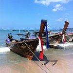 Aonang beach 5 mins away