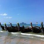 Aonang beach only 5 mins away